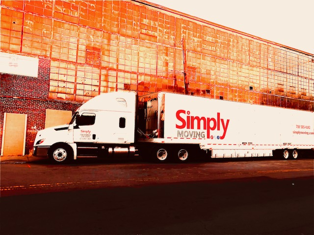 Large trucks help save money with Simply Moving if you have a long distance project