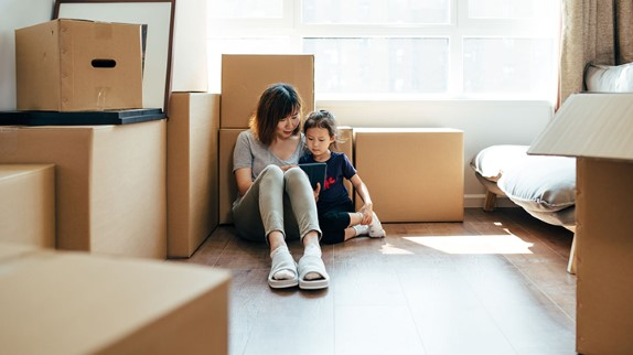 Moving can be challenging on your children too