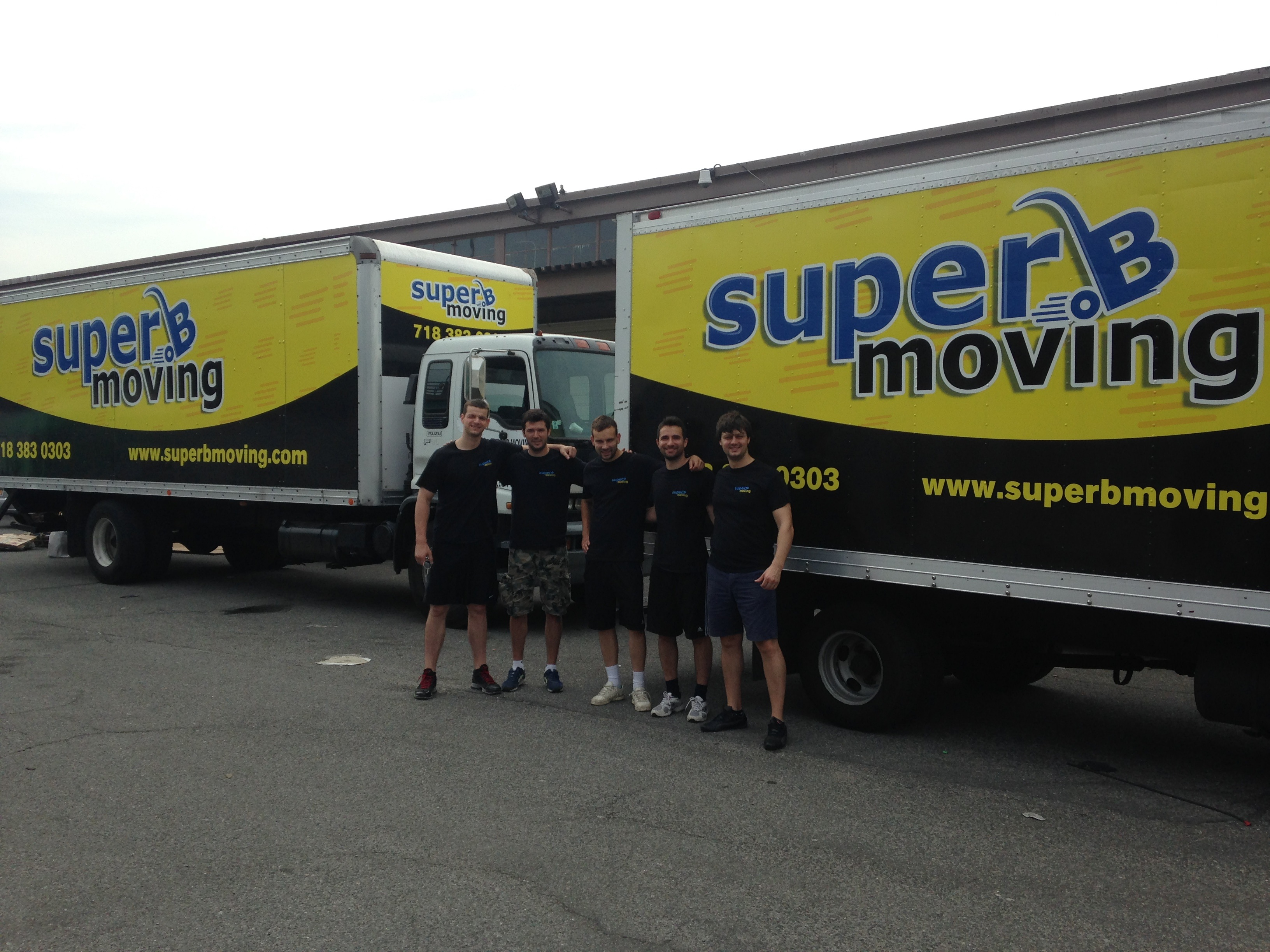 SuperB Moving trucks and crew are ready to service Citymove