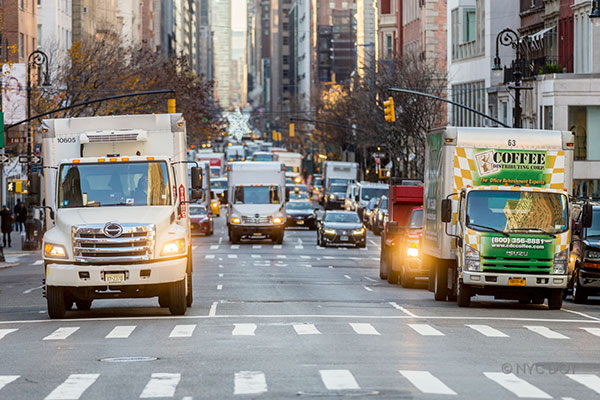 Advice on where you can drive a moving truck in Manhattan