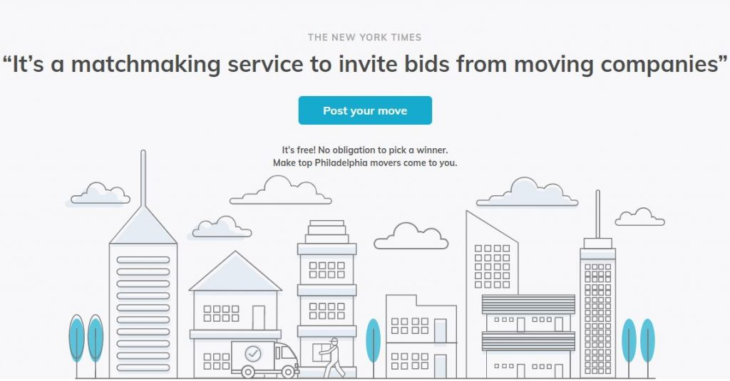 CityMove Philadelphia Homepage